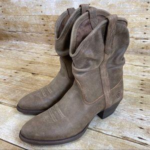 Ariat Brown Reina Western Boots